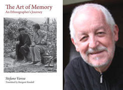 """Book cover """"The Art of Memory"""" and Stefano Varese headshot"""