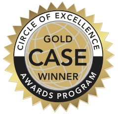 CASE Award of Excellence - Gold
