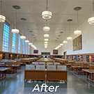 Shields Library reading room