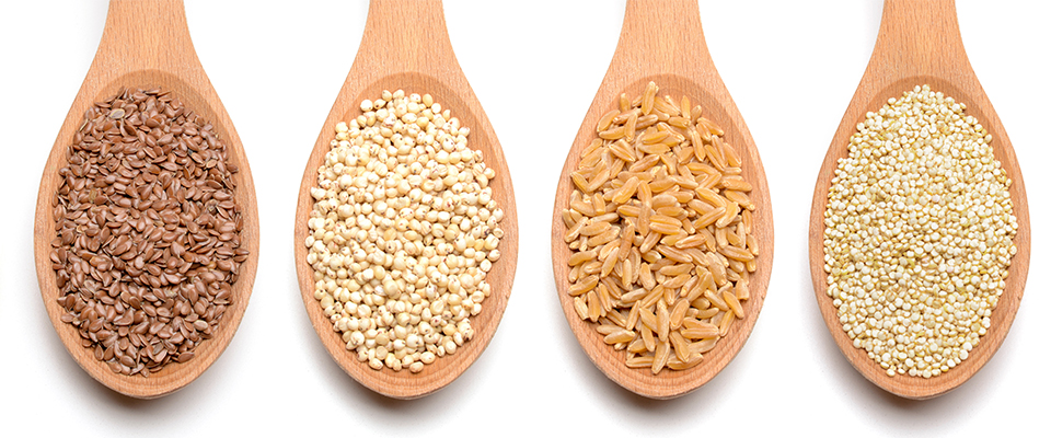 Ancient grains such as these have faired well as a superfood for many years.