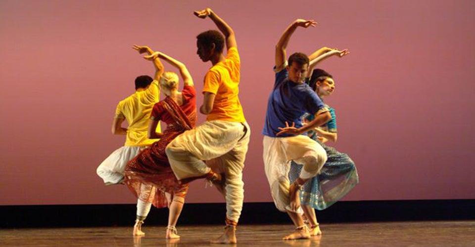 experimental dancers perform