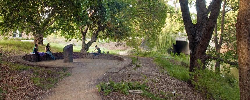 native american contemplation garden