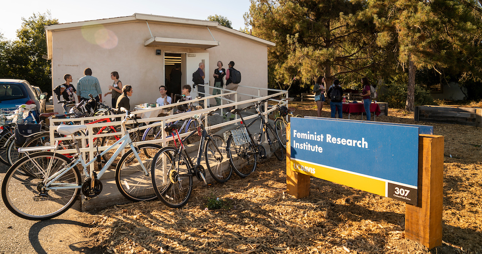 The 1st annual Feminist Research Institute Open House on October 1, 2019. (Karin Higgins/UC Davis)