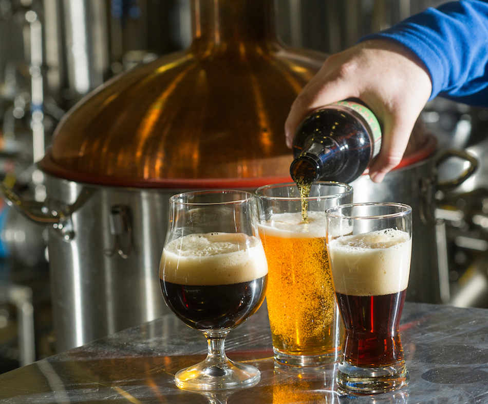The new brewery is part of the 11,500-square-foot August A. Busch III Brewing and Food Science Laboratory iat the Robert Mondavi Institute for Wine and Food Science building on the UC Davis campus.