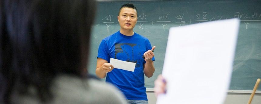 economics graduate student Henry Hao