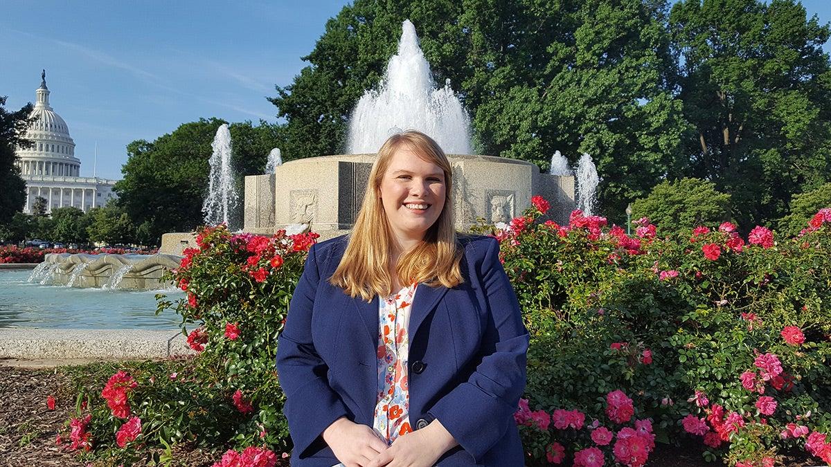 Emily Kaar in Washington, D.C.