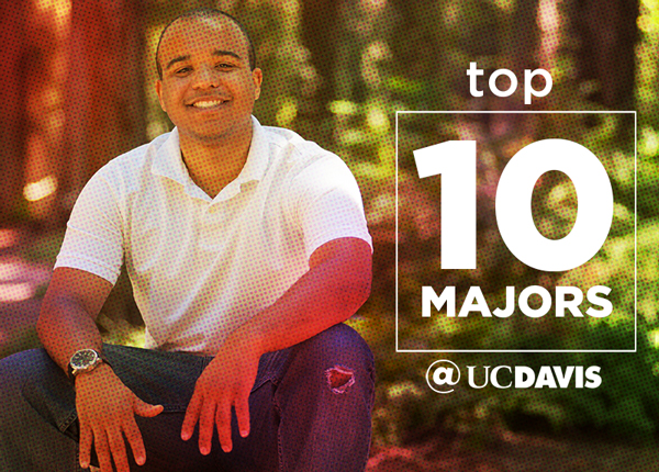 Top Ten Majors at UC Davis Image, Picture of Student Smiling