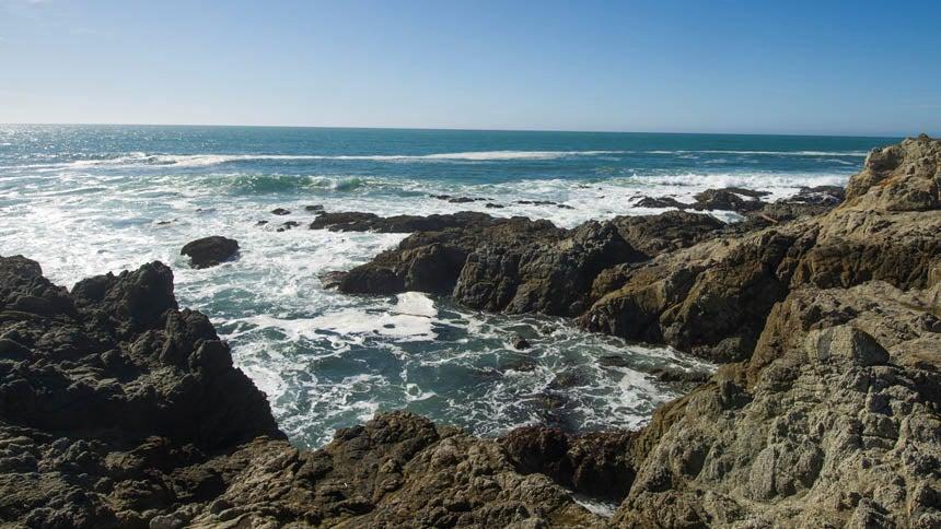 Sweeping view of ocean from Bodega Bay