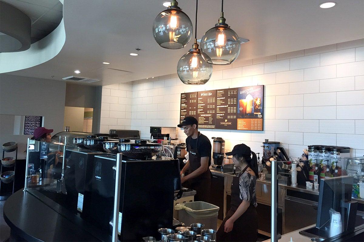 now brewing  new peet u0026 39 s coffee opens in arc