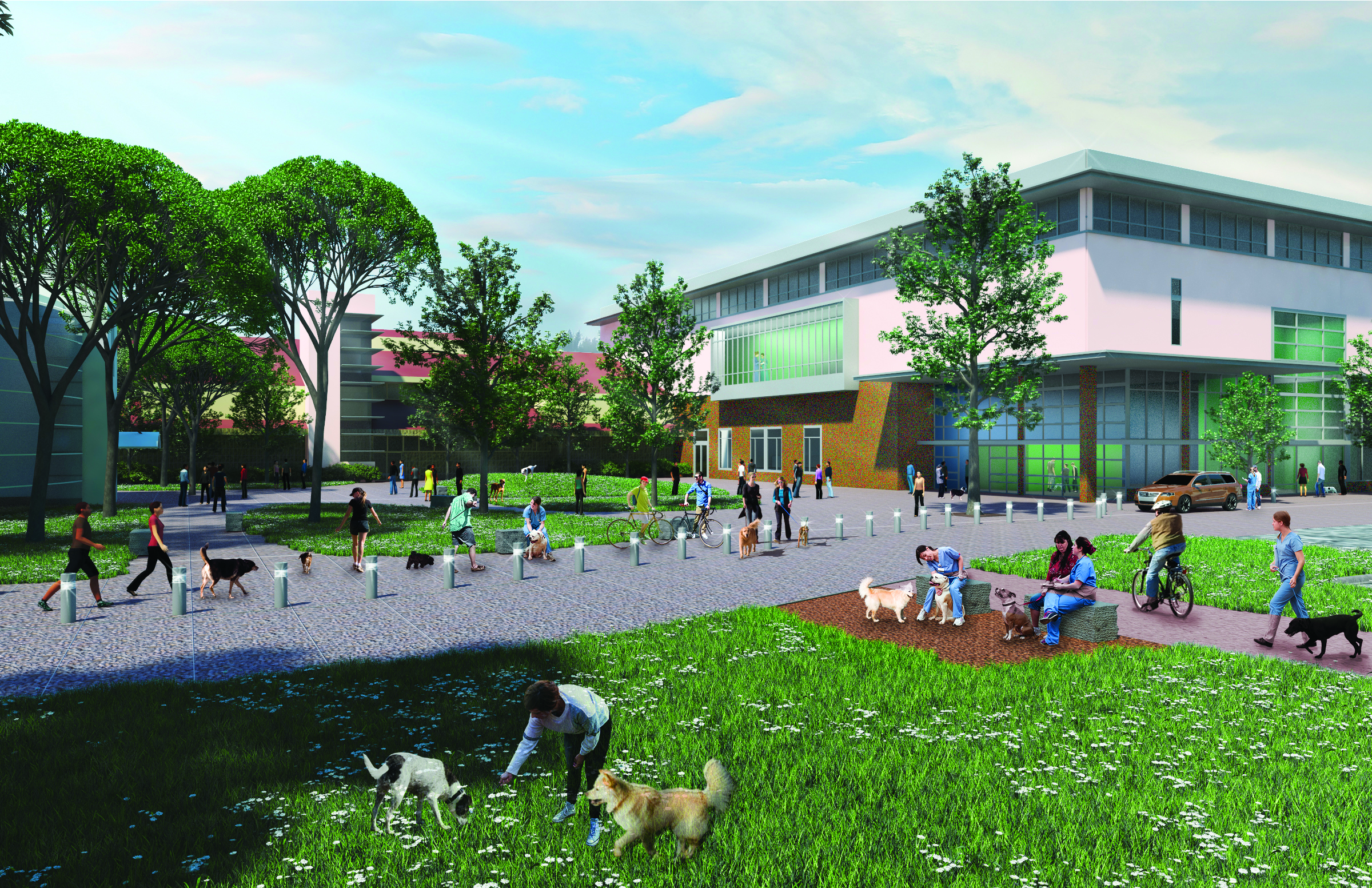 New Veterinary Medical Center On The Drawing Board Uc Davis