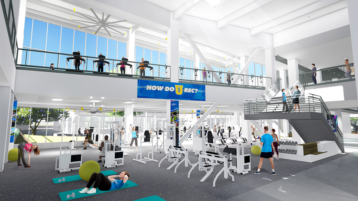 Arc To Gain Workout Space In Expansion Project Uc Davis