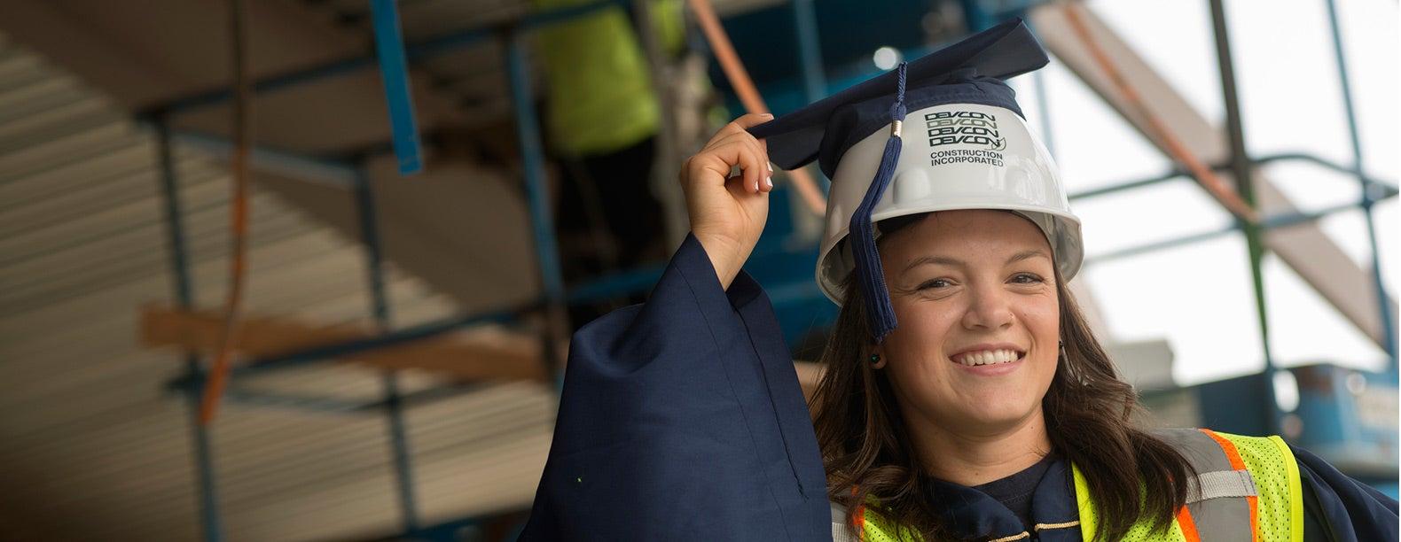 From Grad Cap to Hard Hat | UC Davis
