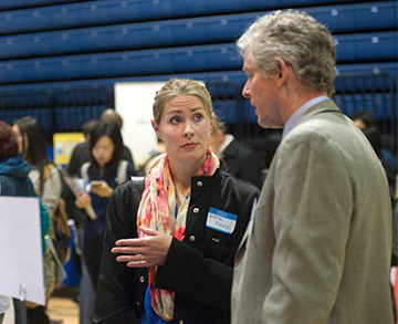 "Meet potential employers and assess companies that ""fit"" you at a UC Davis internship and career fair."
