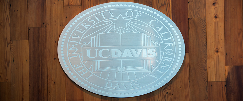 Memorial Union Seal of UC Davis