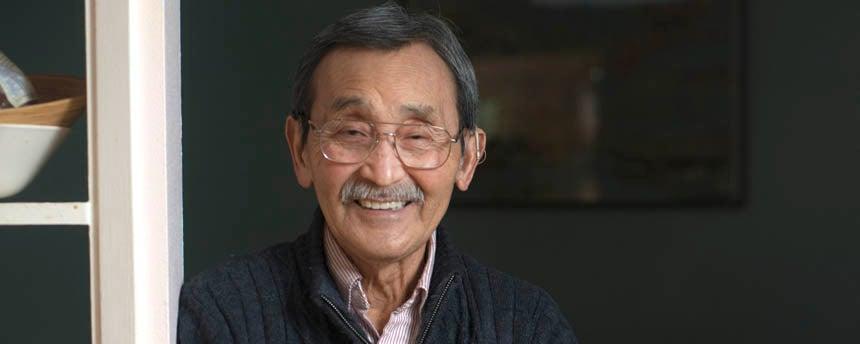 A portrait of Professor Isao Fujimoto