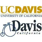 UC Davis and city of Davis logos