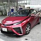 A Toyota Mirai.