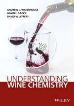 Book cover, wine pours from bottle into glass
