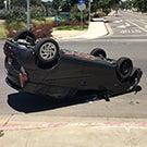 Rolled car