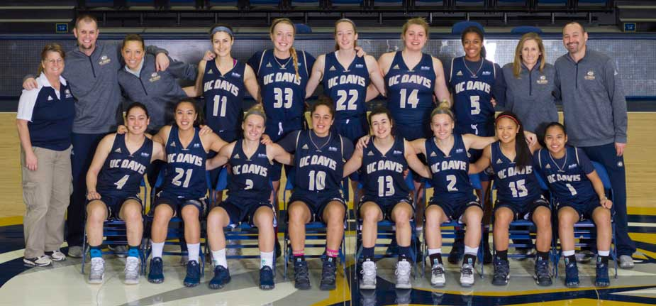 Team photo, women's basketball