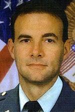 Mark D. Taylor mugshot, in formal Army uniform