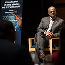 Chancellor Gary S. May on panel