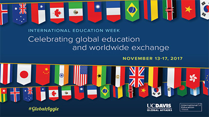 International Education Week flyer