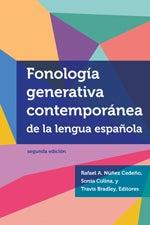 Fonología generativa contemporánea de la lengua española book cover