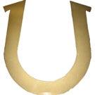 Horseshoe portion of the Golden Horseshoe Trophy