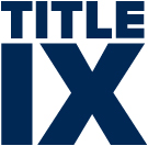 Title IX graphic, in Roman numerals
