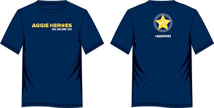 Aggie Heroes T-shirt