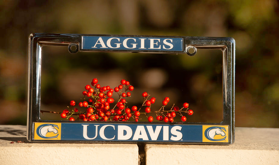Aggie license plate frame