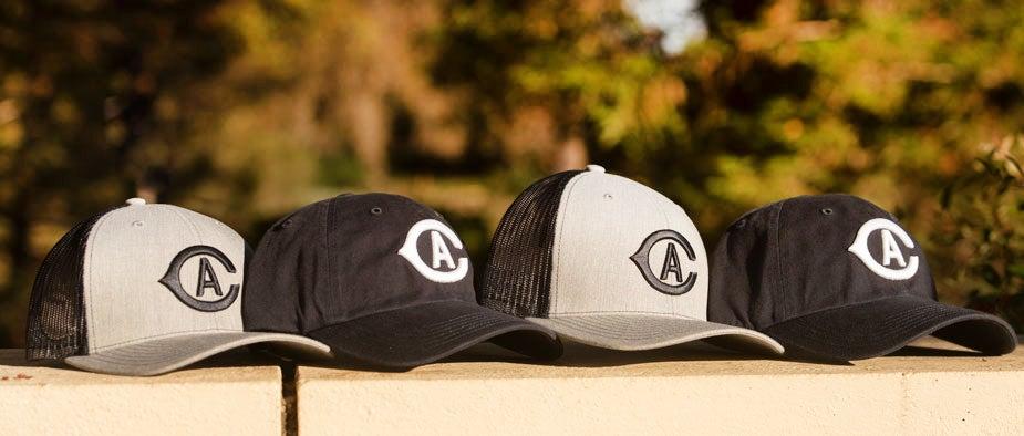 """CA"" baseball hats"