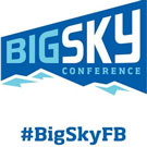Big Sky Conference logo and hashtag