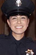 Natalie Corona in uniform