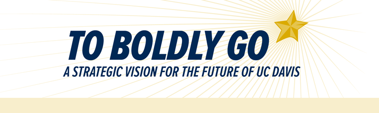 """""""To Boldly Go"""" logo, with bright star"""