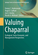 """Valuing Chaparral"" book cover"