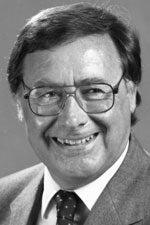 Charles E. Hess as UC Davis dean, black and white