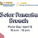 Solar pancake breakfast