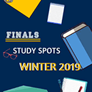 Finals study spots winter 2019.
