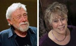 Gary Snyder and Sandra McPherson mugshots