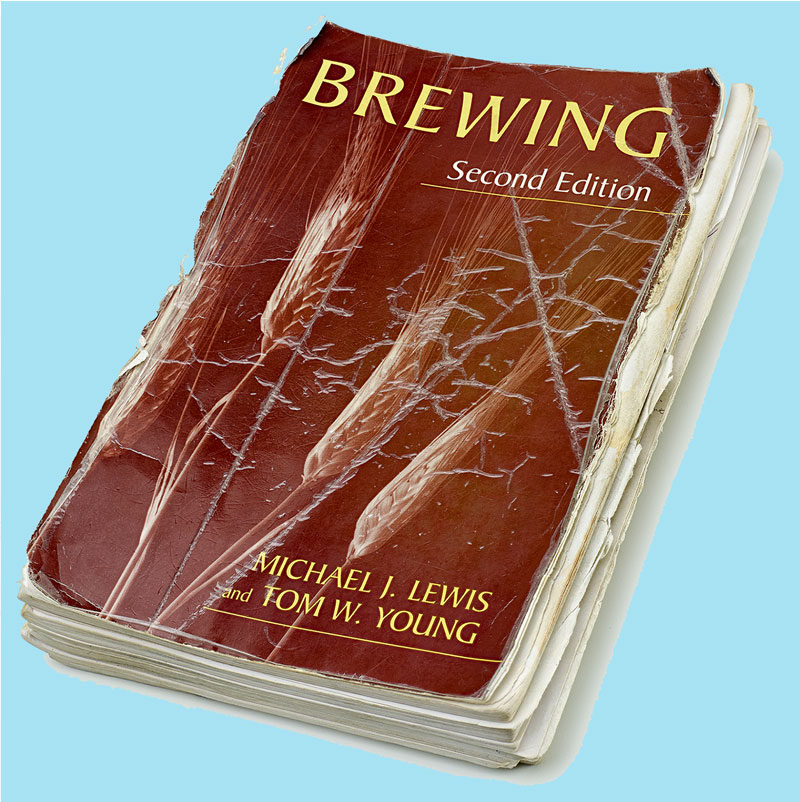 "Worn copy of ""Brewing"""