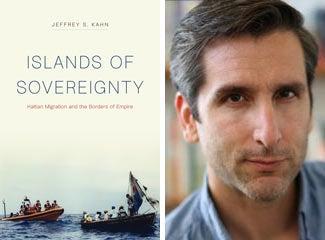 Book cover and Jeffrey S. Kahn mugshot