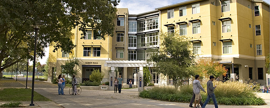 Alder Hall student residence exterior