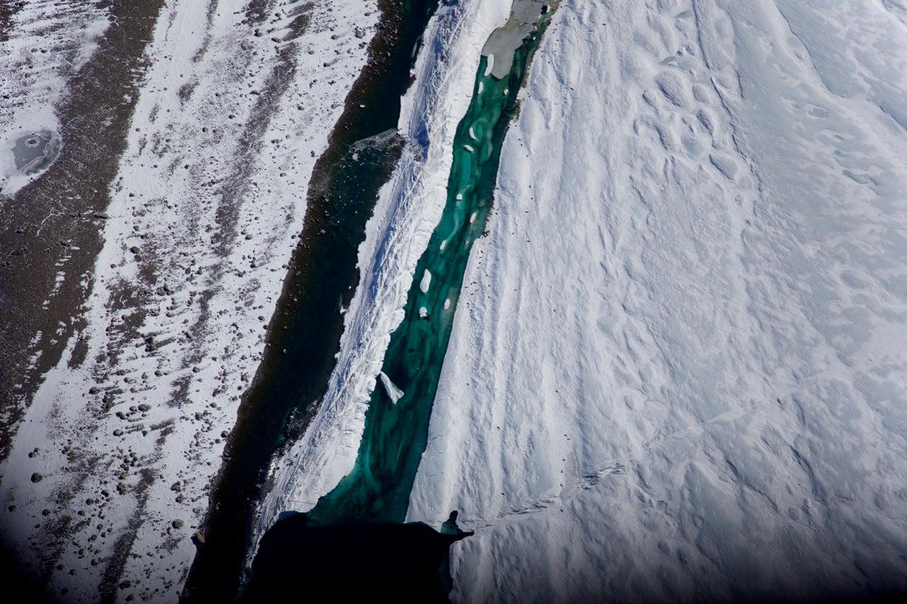 Aerial Antarctica