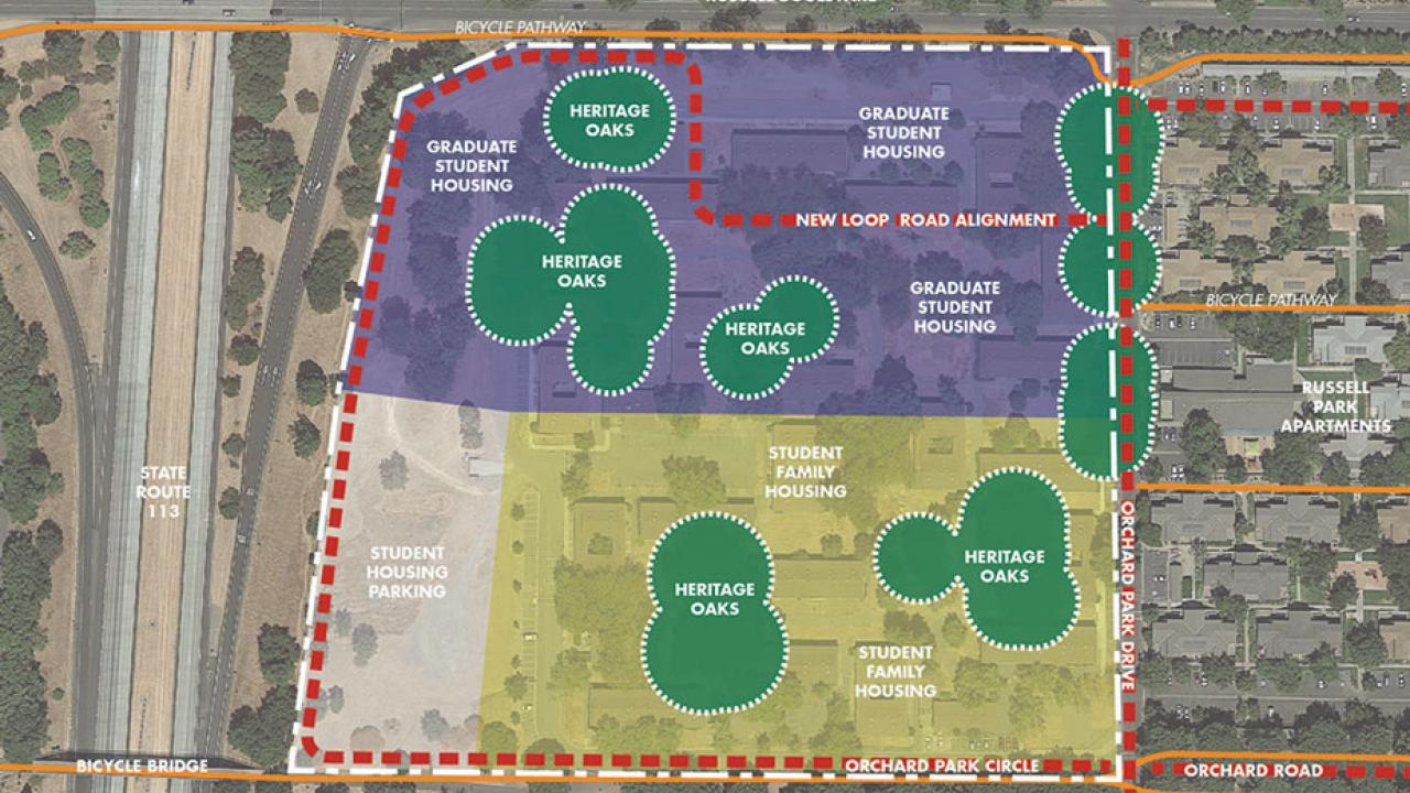 Map of Orchard Park Project