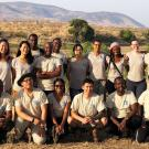 2019 Rx One Health participants pose in Ruaha National Park, Tanzania.