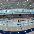 Testing stations in ARC gym, panoramic