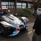 Photo: Slingshot police vehicle, three-wheel motorcycle