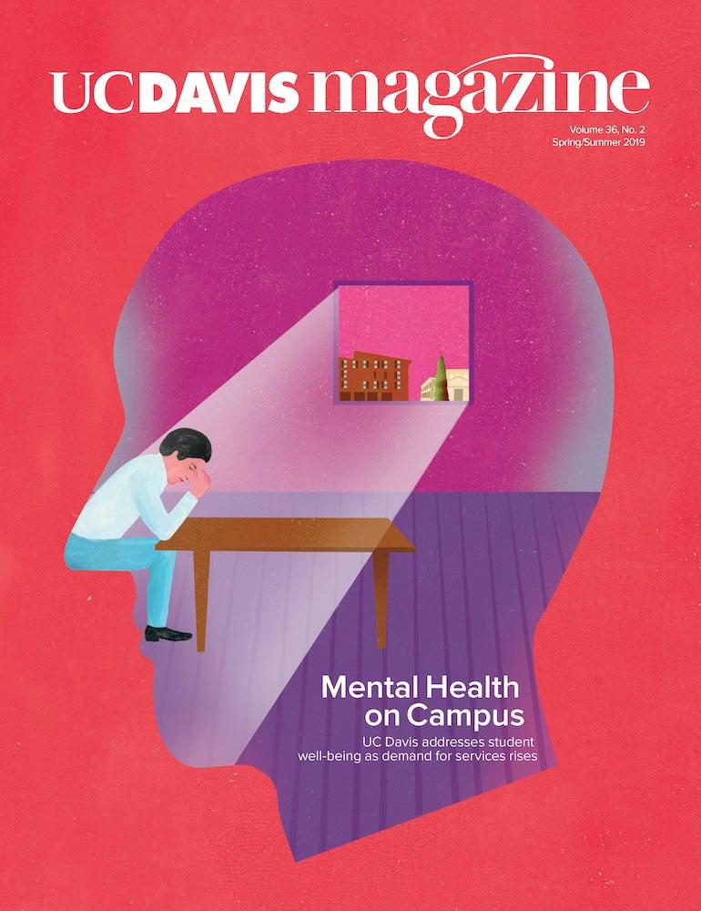 UC Davis Magazine Cover